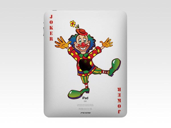 True Joker Full Color iPad Decal