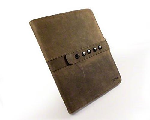 Tuff-Luv Saddleback iPad Leather Case