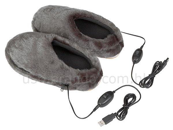 USB Heating Slippers