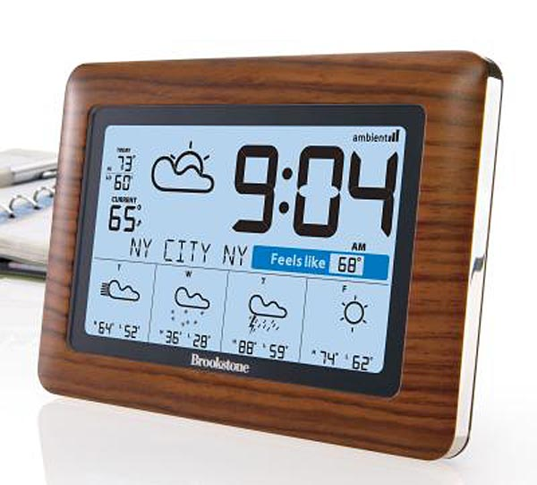 WeatherCast Wireless Weather Station and Clock