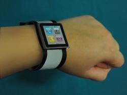 Handmade Glowing iPod nano Watch Band