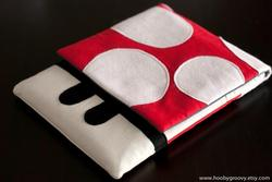 Super Mario Goomba and Super Mushroom iPad Cases