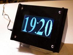 Monochron Clock for Computer Geeks