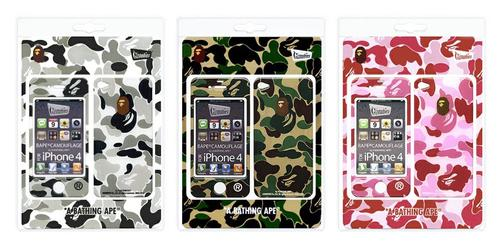 Fashionable iPhone 4 and 3G Cases from Zozotown iPhone Protector Design Project - BAPE