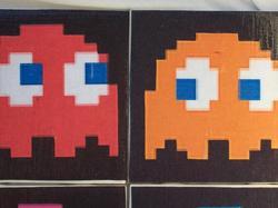 Pacman Coaster Set