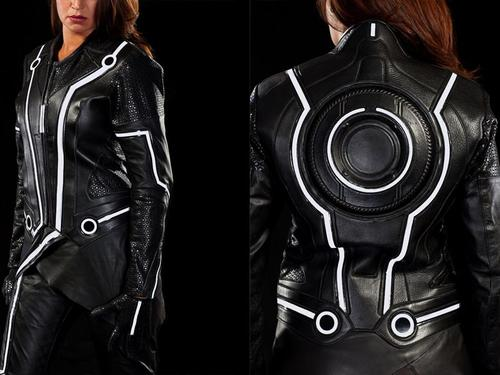 Limited Edition Tron Legacy Leather Motorcycle Suit