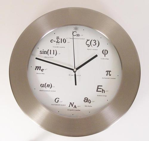 Geek Metal Clock