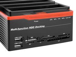 Triple Multi-Function IDE SATA HDD Docking Station