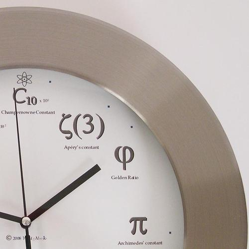 Geek Metal Clock