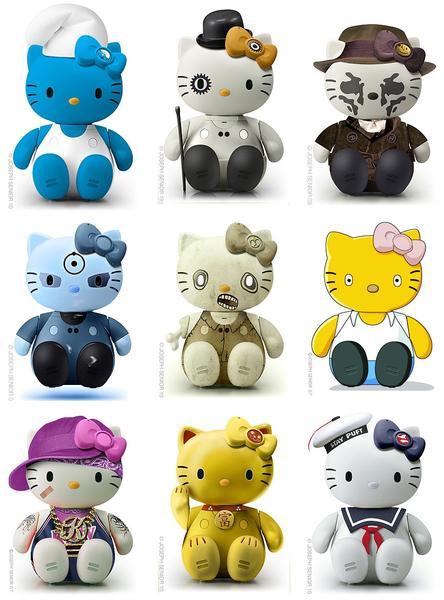 More Hello Kitty Model Kits by Joseph Senior