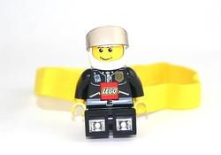 New LEGO Minifigure Flashlight and Headlamp