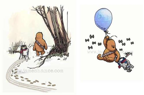 Star Wars in Winnie the Pooh