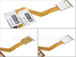 Triple Sim Adapter iPhone 4 Case