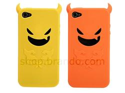 Halloween Themd Devil iPhone 4 Case