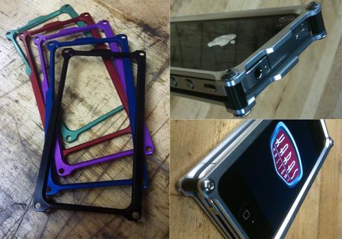 KarasKustoms Machined Metal iPhone 4 Case