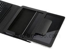 iPad Leather Case Integrated Bluetooth Keyboard