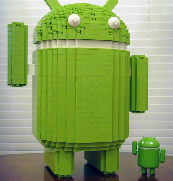 15-Inch LEGO Google Android