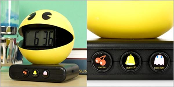 3D Pacman Alarm Clock