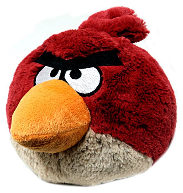 Angry Birds Plush Toys Available for Preorder