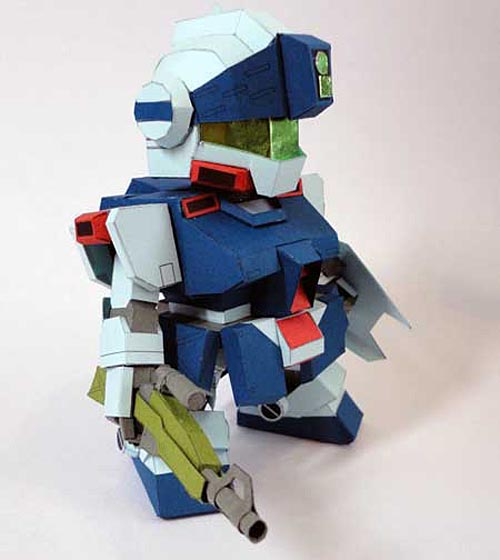 Another Gundam Paper Craft