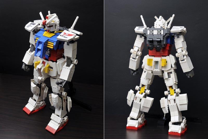 Awesome LEGO Gundam Action Figure | Gadgetsin