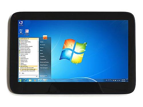 bModo12 Windows 7 Tablet
