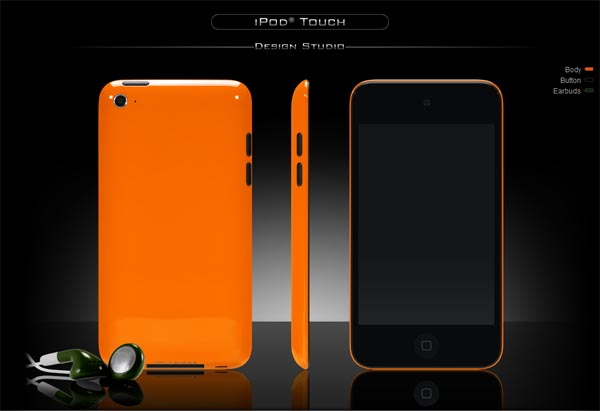 ColorWare Color Custom Service for iPod touch 4G