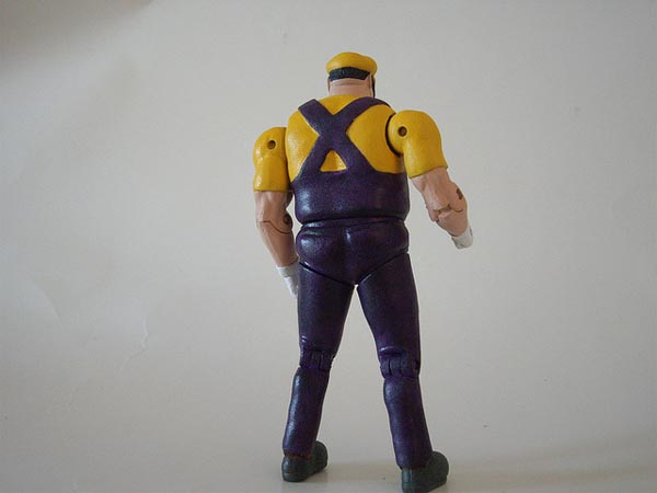 Custom Wario Action Figure Strong Enough