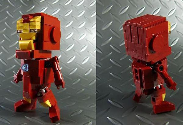 Cute LEGO Iron Man