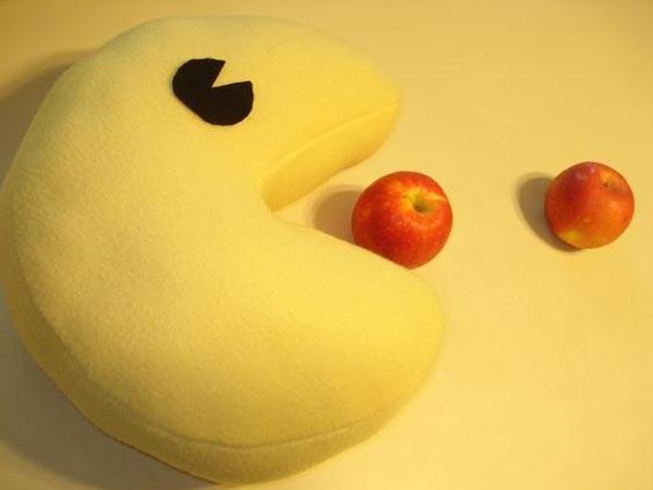 Cute Pacman Pillow