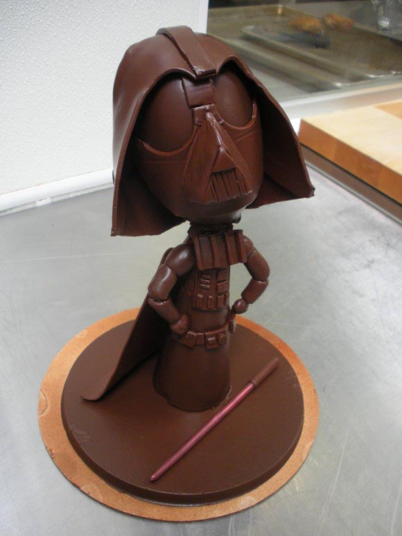Darth Vader is a Piece of Chocolate