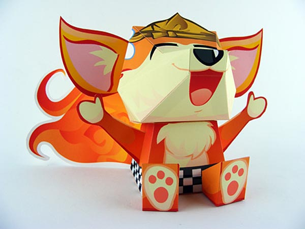 FireFox is Paper Craft instead of Web Browser