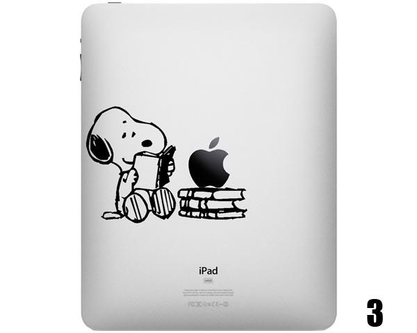 Five Cute Snoopy Ipad Decals Gadgetsin