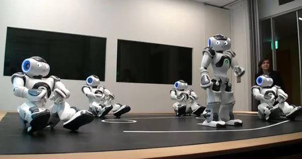 French NAO Robots Visiting Japan