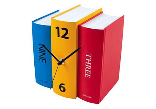 Fun Book Clock