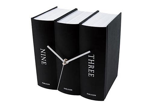 Fun Book Clock