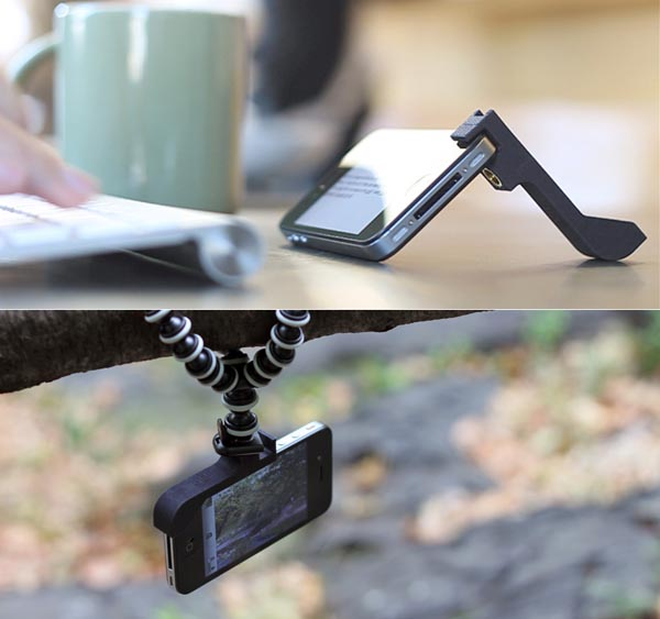 Glif iPhone 4 Stand Doubled as Tripod Mount