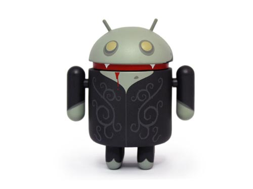 Halloween Vampire Google Android Mini Figure Special Edition