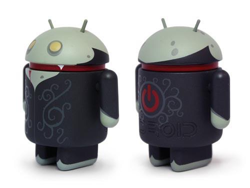 Halloween Vampire Google Android Mini Figure Special Edition
