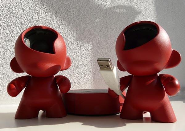 Handmade Munny Doll Speakers