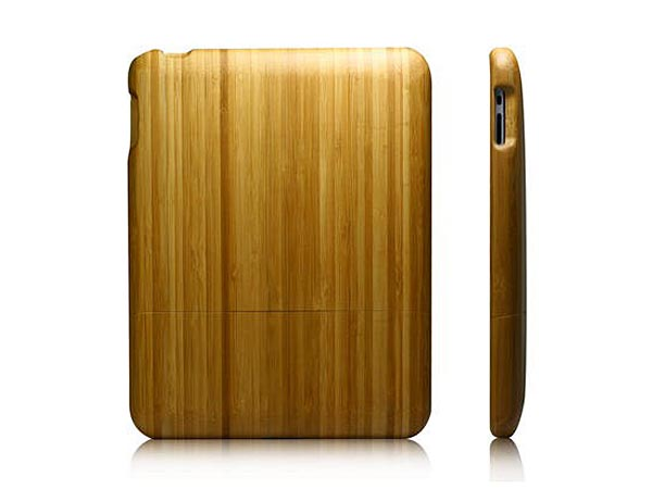 ... wooden case? If you prefer woodwork, the natural bamboo wooden iPad