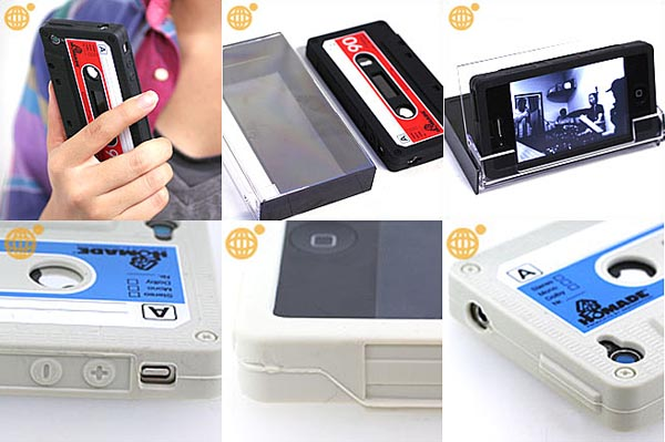 iTape Deck Cassette Tape iPhone 4 Case