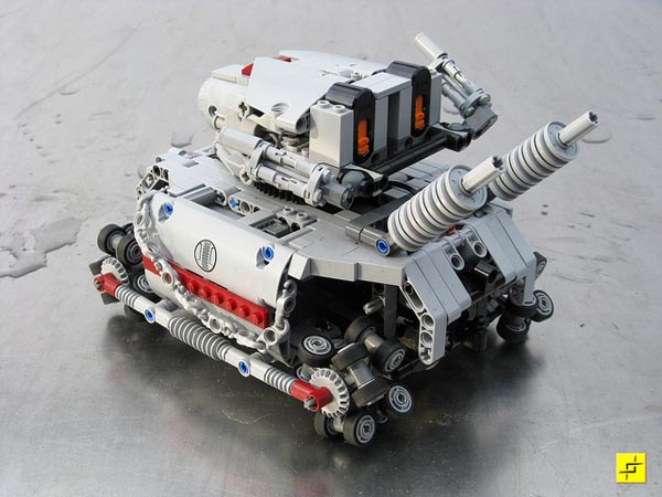 Lego Metal Slug Remote Control Tank Gadgetsin