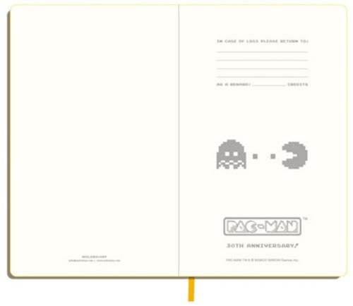 Limited Edition Pacman Moleskine Notebooks