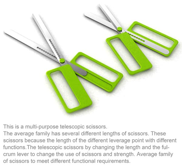 Multi-Purpose Scalable Scissors