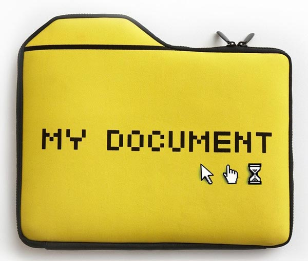 My Document Laptop Bag