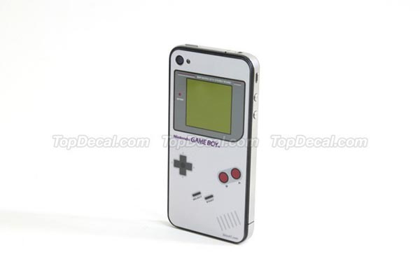 Nintendo Game Boy iPhone 4 Skin