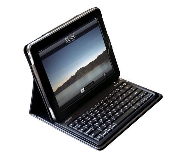 PADACS Toccata iPad Case Integrated Bluetooth Keyboard