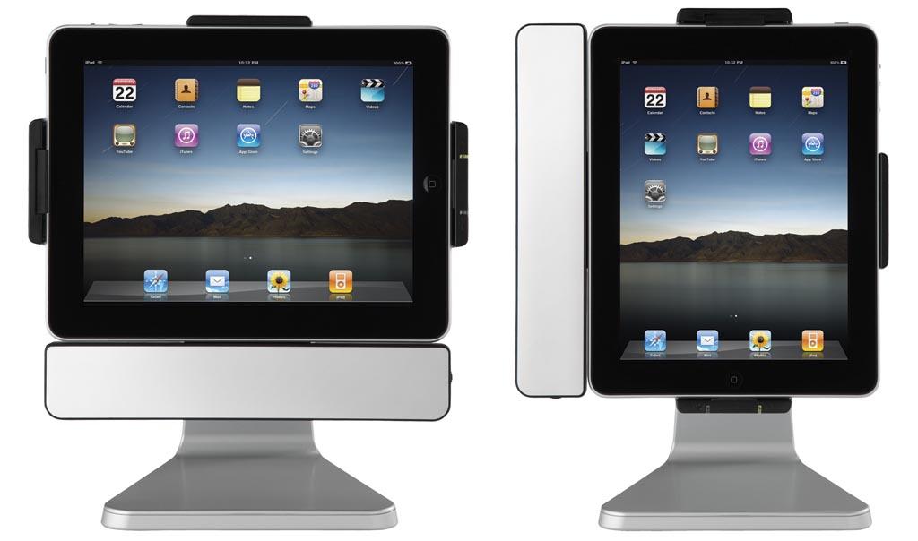 paddock 10 multi functional ipad docking station gadgetsin. Black Bedroom Furniture Sets. Home Design Ideas