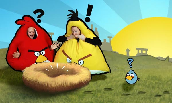 Really Angry Birds Halloween Costumes